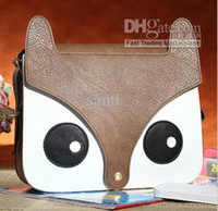 Wholesale Multi colors New Cute Girl Naughty Cartoon Little Fox Bag new Retro Cute Satchel Shoulder Bag