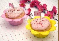 baking sun - Silicone Sun Flower Bake Baking Cups Cupcake Muffins cup cake cups Repeated use Silica gel Liners