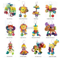 Christmas baby bird toys - 26 choose Lamaze musical toys bed hanging early development Crib toy rattle teether infant baby toy