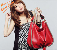 Wholesale Korea style fashion lady handbag shoulder bag body bag high quality PU fabric pc