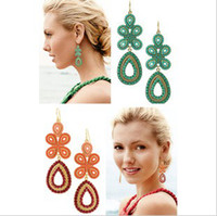 Wholesale Capri Chandelier Earrings Stella And Dot Trendy Lady s Coral Earings Jewelry Valentine Gift