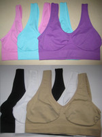 Wholesale 3pcs Fashion Women Sexy Seamless Sport Yoga Bra Holiday Leisure Underwear size Colors for Choose