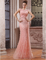 2013 New Luxury Mermaid Bateau Tulle Feather Beads Sequin Br...