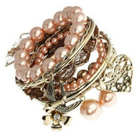 Wholesale 10Pcs Palace Style Multilayer European Fashion Bracelet E5509