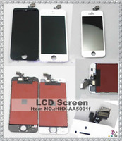 For Apple iPhone LCD Screen Panels  For iPhone 5 LCD,Original Black&White lcd Display+Touch Screen Digitizer assembly Replacement Part