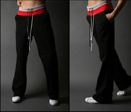 Wholesale Free gift men s clothing male sports pants Men casual pants plus size trousers loose male trousers