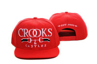 Wholesale NEW Crooks and Castles Snapback Hat hats Visor Cap caps Hip hop hat Sports hat hat13118
