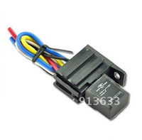 electric car kit - Car Auto A AMP V Relay Kit For Electric Fan Fuel Pump Light Horn Pin Wire