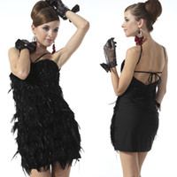 Compare Latin Dance Costumes With Feathers Reviews and Buy