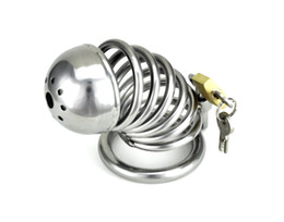 Wholesale Stainless steel Male Boundage chastity longer Cage Gimp New Style A085
