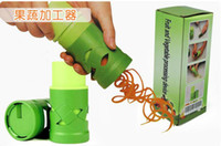Wholesale DHL UPS Kitchen Gadget Fruit amp Vegetable Tools multi function Section rotate pieces