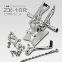 Wholesale Rearset Rear Set Foot Pegs Rest Footrest for Kawasaki ZX10R ZX R