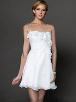 Model Pictures Sweetheart Chiffon 2013 Sexy Short White Chiffon Column Beads Flowers Sweetheart Neckline Cheap Cocktail Party Dresses