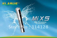 other other other KLARUS MiX5 Mi X5 Gold Cree XP-E R2 LED 1.5v AAAA 76Lumens Stainless steel CREE LED flashlights