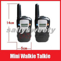 Wholesale Monitor Function Mini Walkie Talkie Travel T Two Way Radio set Intercom Ret