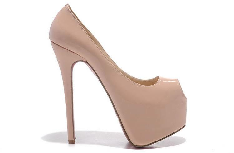 Where to Buy Nude Peep Toe Heels Online Where Can I Buy Nude Peep