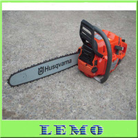 Wholesale Top Quality Air cooling Husqvarna Gasoline Chainsaw Chain Saw CC KW quot Guide Bar