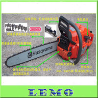 Wholesale Fashion Husqvarna Gasoline Chainsaw Garden Tool Air cooling Chain Saw CC KW quot Guide Bar