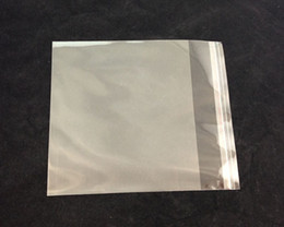 50PCS Clear Self Adhesive Seal Plastic Opp Bags 16cm Without Hole #22598