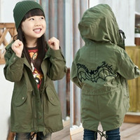 Wholesale 5 Autumn Spring Clothing Coat Long Sleeve Children Kids Coat Jacket Wear AA18