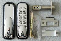 Wholesale Simple Keypad Push Button Door Lock fire resistance Stainless Steel Latch