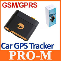 Wholesale Mini Waterproof Real Time GPS GSM GPRS Tracker Monitor Tracking Anti theft Alarm Tool Device System