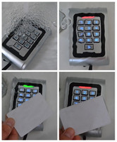 access control keypad system - Waterproof Metal Smart RFID Card Reader Keypad Access Control System Confirm to IP68