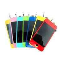 Wholesale Colorful LCD Screen Display Touch Glass Digitizer Assembly For iPod Touch th high qualit