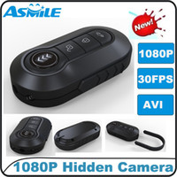 Wholesale new P Nightvision HD IR Night Vision Car Key Chain Camera DVR Motion Detection
