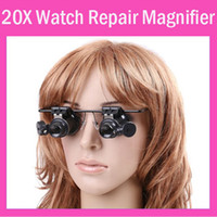 Wholesale Eyes Jewelers Watch Repair X Magnifier Magnifying LED Lighted Glass Loupe Lamp