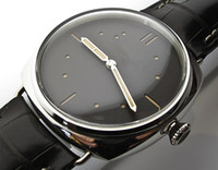 Wholesale Men watch Stainless steel luxury Watches AUTOMATIC Wristwatch PA14 steel case leather band