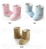 Wholesale Hot Sales Pair Baby Infant Toddler Boys Girl Warm Winter Snow Shoes Boots Months ax36