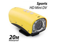 Wholesale 5 Mega CMOS Sport Camera DVR Sports HD Mini DV Car DVR Recorder Bike Recorder AVI HD Waterproof