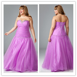 Wholesale 2013 Sexy Sparkle Paillette Sequin Bust Line Pleat Sweetheart Floor Length Plus Size Party Dress