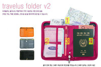 Wholesale handbag passport bag travel multifunctional storage bag pouch storage case briefcase