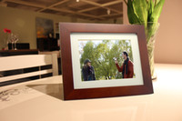 7''-8.99'' MP3 Acrylic high-grade 8inch Solid wood 4:3 800X600 250LM LCD Wide Screen Digital Photo Picture Frame