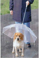 Wholesale 2013 Fashion hot Petumbrella pet dog umbrella umbrella pet raincoat dog raincoat teddy is small dogs