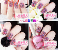 other beads nail polishes - Caviar nail polish suit Europe and the United States da nail art decoration color beads pc