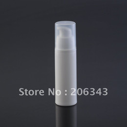 Wholesale 30ml white airless vacuum pump lotion bottle used for Cosmetic Container