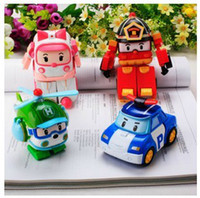 Wholesale High Quality Robocar poli deformation car bubble South Korea Thomas toys models mix robocar poli