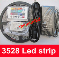 Wholesale Waterproof M Leds SMD Warm Cool White LED Flexible strips Tape Lights Home Car Decoration