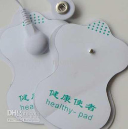 Wholesale 20pc good quality white Electrode Pads for Tens Acupuncture Slimming massager Digital Therap