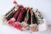 Wholesale Classic Decorative Pattern Rabbit Wool Gloves