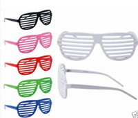 Wholesale Novelty Fashion Hip Hop Shutter Shades Sunglasses glasses Club Party Eyeglasses