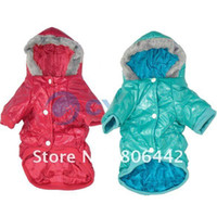 Wholesale Holiday Sale New Good Qulity Warm Pet Dog Clothes Waterproof Hat Coat Color Size