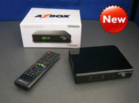 Wholesale 2013 New Model azbox bravissimo HD digital Satellite Receiver twin tuner IKS SKS Nagra3 Bravissimo