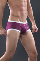 Men Nylon other new sexy men Shino male boxer panties u bags quick-drying breathable mesh underwear thongs free shipping