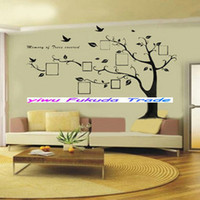 Wholesale Photo Frame Large Tree Kids Room Art Mural Removable Wall Sticker Decal