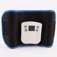 Wholesale Body Building Gym Belt Electronic Abdominal Exerciser Waist Belt Slimming belt massage belt