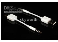 Wholesale Charge cable for iPod shuffle data lines Charging USB Data
